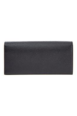 Черный кожаный бумажник Canali 1793126755