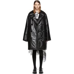 Maison Margiela Black Down Glossy Jacket S50AH0058 S49992 900