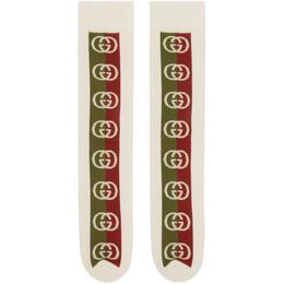 Gucci Off-White Lostongey Socks 575577 4G157