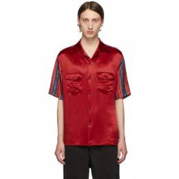 Gucci Red Bowling Shirt 572516 ZABSC