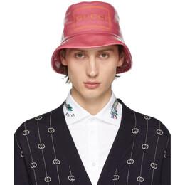 Gucci Pink Montecarlo Crystal Bucket Hat 192451M14000501GB
