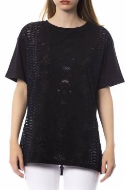 T-shirt Trussardi 56T00082_1T000775_K299_BLACK