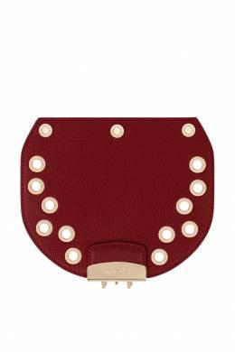 Бордовый съемный клапан для сумки Metropolis Furla 1962135700
