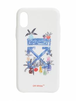 Чехол Для Iphone X Off-White 70IIUD036-MDEzMA2