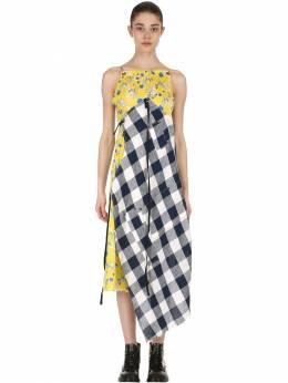 Платье Из Хлопка R13 67I4T2007-WUVMTE9X0