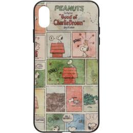 Marc Jacobs Multicolor Peanuts Edition Comic Strip iPhone XS Max Case 192190F03200701GB