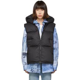 Moncler Black Down Gamble Vest E20934833000V0041