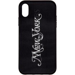 Marc Jacobs Black New York Magazine Edition Lenticular iPhone XR Case 192190F03200301GB