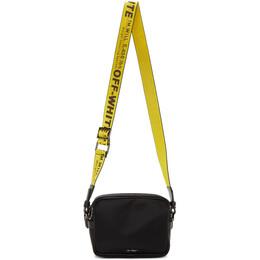 Off-White Black Industrial Crossbody Bag OMNA049R20E480011000