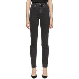 Toteme Black Standard Jeans 193-231-743