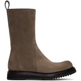 Rick Owens Brown Creeper Boots RU19F4851 LVS