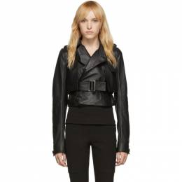 Rick Owens Black Short Trench Jacket RP19F5720 LLP
