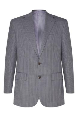 Шерстяной костюм серого цвета Stefano Ricci 1726135763