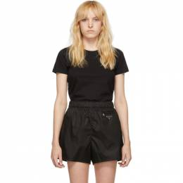Moncler Black Crewneck T-Shirt E20938090400V8058