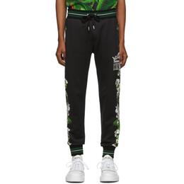 Dolce&Gabbana Black King Lounge Pants GYUVAZ G7SKJ