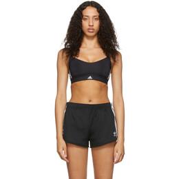 Adidas Originals Black All Me 3-Stripes Sports Bra 192751F07300101GB