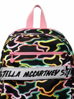 Нейлоновый Рюкзак С Принтом Stella McCartney Kids 70I6SI025-MTA4Nw2