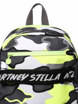 Рюкзак Из Нейлона С Камуфляжным Принтом Stella McCartney Kids 70I6SI024-MTQ2MA2
