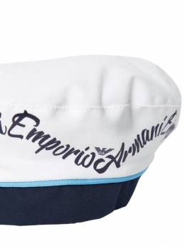 Берет Из Хлопкового Габардина Emporio Armani 69I8Z3007-MDM2MTA1