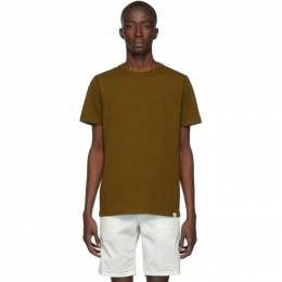 Norse Projects Brown Standard Niels T-Shirt N01-0362