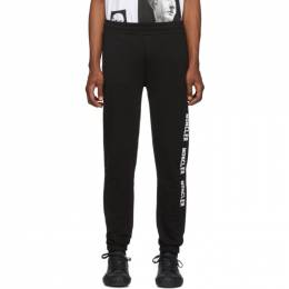Moncler Black Logo Lounge Pants E2091 87076 50 V8048