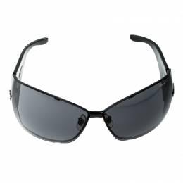 Chopard Black Monogram SCH637 Shield Sunglasses 140798