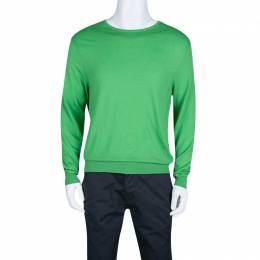 Ralph Lauren Parrot Green Long Sleeve Sweater XL