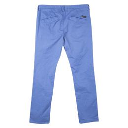 Boss by Hugo Boss Blue Cotton Stretch Rice 1-D Modern Essential Pants M 119562