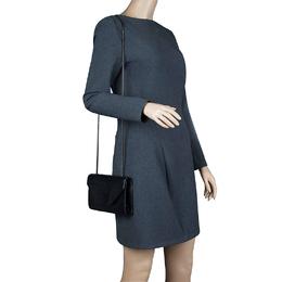 Saint Laurent Black Python Betty Shoulder Bag 63972