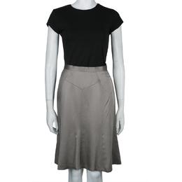 Jason Wu Grey A-Line Skirt L 59933