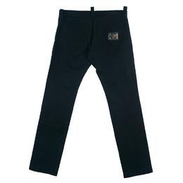 Dolce&Gabbana Men's Black Denim Pants S 44323