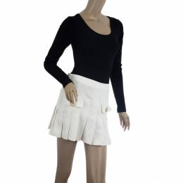 D&G Pleated Short Skirt S Dandg 20725