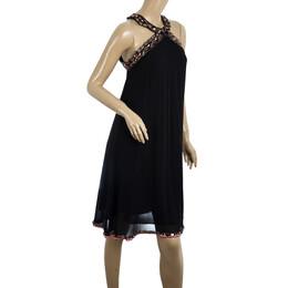 Matthew Williamson Embellished Halterneck Dress S 20601