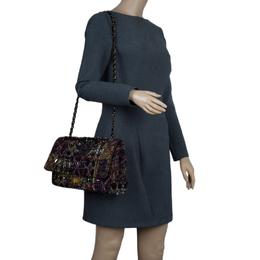 Chanel Multicolor Lesage Tweed Jewel Encrusted Reissue 2.55 Classic 228 Flap Bag 57101