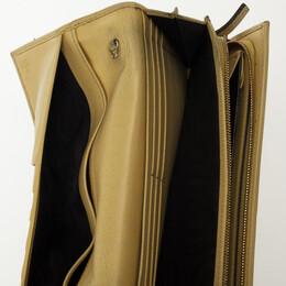 Gucci Beige Monogram Continental Wallet 26688