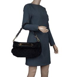 Louis Vuitton Black Monogram Limited Edition Motard Before Dark Clutch 57021
