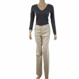 Gucci Beige Formal Flare Pants M 17486