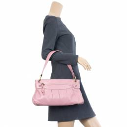 Marc Jacobs Pink Leather Lola Bag With Umbrella 16863