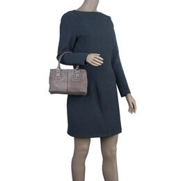 Tod's Grey Suede Box Bag 2900