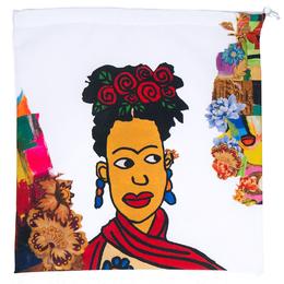 Mahaweb Frida Kahlo Design Limited Edition Shoe Box & Dust Bag for Rene Caovilla 159840