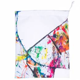 Mahaweb Abstract Design Limited Edition Shoe Box & Dust Bag for Rene Caovilla 159838