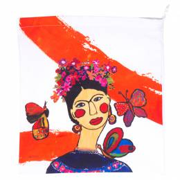Mahaweb Frida Kahlo Design Limited Edition Shoe Box & Dust Bag for Rene Caovilla 159839