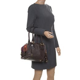 D&G Multicolor Leather Lily Bowler Bag Dandg 170478