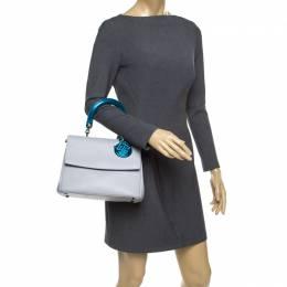 Dior Grey Leather Small Be Dior Shoulder Bag 177314