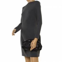 Saint Laurent Black Leather Clutch