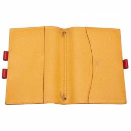 Hermes Two-Tone Courchevel Leather Agenda Cover 281072