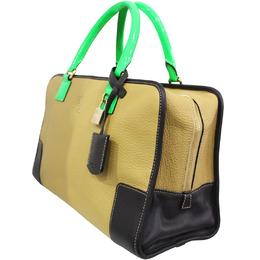Loewe Brown Leather Amazona Everyday Bag