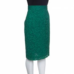 Joseph Green Sixty Floral Lace Pencil Skirt L 153586