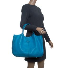 Tod's Blue Leather Shoulder Bag Tod's 143157