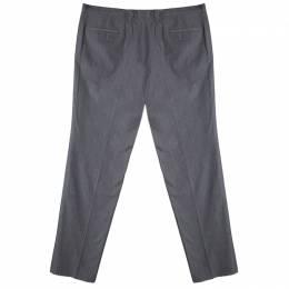 Boss by Hugo Boss Grey Regular Fit Tailored Trousers 5XL 83578